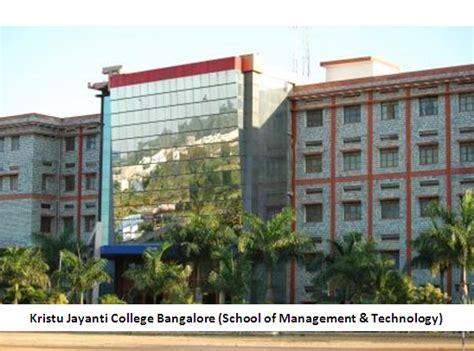 Kristu Jayanti College Mba Prospectus by Kristu Jayanti College Bangalore School Of Management