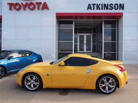 yellow nissan 370z for sale 2009 yellow nissan 370z coupes theeagle