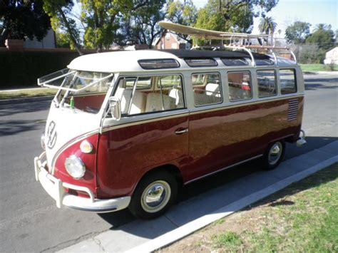 21 Window Vw by 1967 21 Window Vw Samba
