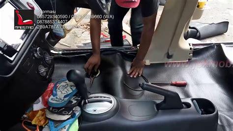 Pasang Karpet Mobil tips dan trik cara pasang karpet mobil sintetik standart version