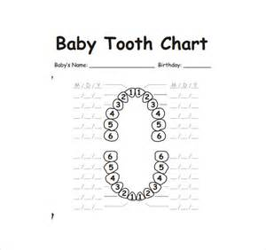 dental chart template sle teeth chart template 10 free documents