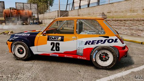 renault 5 maxi turbo renault 5 maxi turbo para gta 4