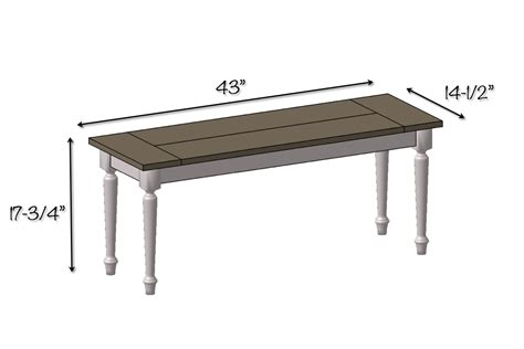dining table bench dimensions diy elegant farmhouse bench dining table bench seat dimensions