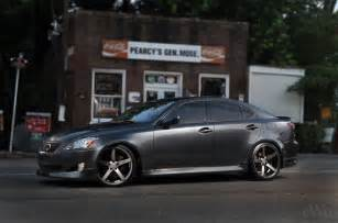 vossen wheels presents lexus is 350 on custom wheels