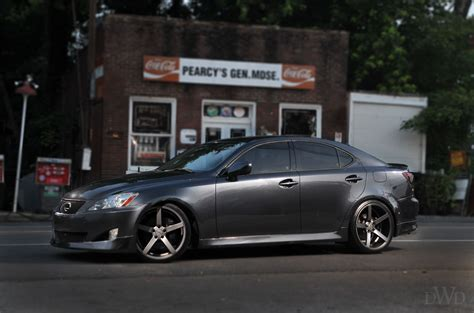 lexus custom vossen wheels presents lexus is 350 on custom wheels you