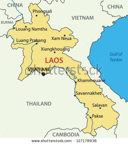 How To Find Peoples Addresses For Free Lao Peoples Democratic Republic Vector Map Laos 127178936