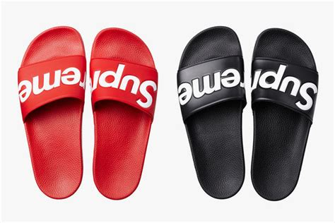 supreme slippers shoes slippers supreme mens womens unisex sandals flat