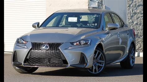 lexus is f sport 2017 2017 lexus is 200t f sport walkaround