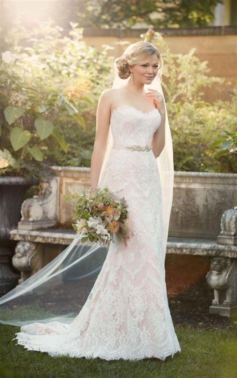 sheath wedding gown  essense  australia