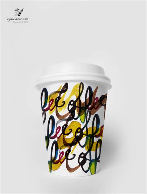 coffee cup design on behance coffee tea paper cup design on behance