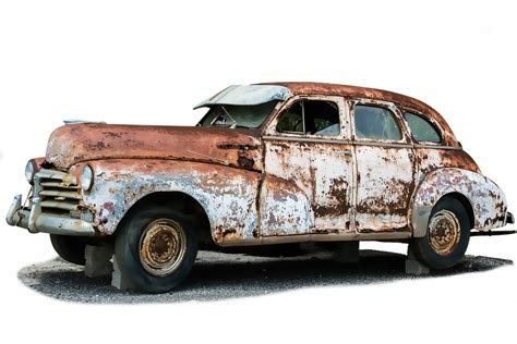 wrecked car transparent free illustration auto old broken scrap stainless