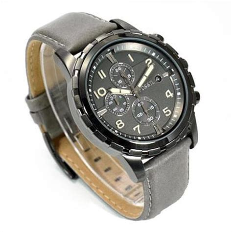 Fosil Dual Analog fossil dean chronograph gray review
