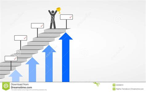 achievement stock illustration image 55030872