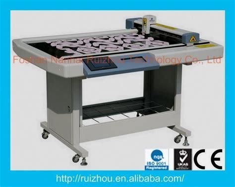 pattern making machine manufacturers ruizhou footwear paper pattern cutting table rzcam 1209e