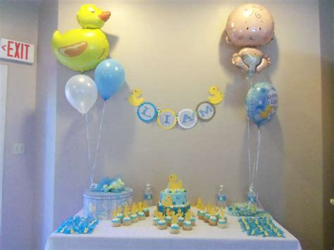 Rubber Ducky Decorations For by Rubber Ducky Baby Shower Ideas Photo 5 Of 6