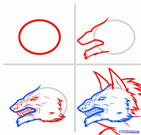 step 10 how to draw a werewolf transformation werewolf step 4 how to draw a werewolf transformation werewolf