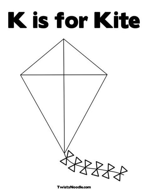 coloring book zip drive k is for kite coloring page from twistynoodle