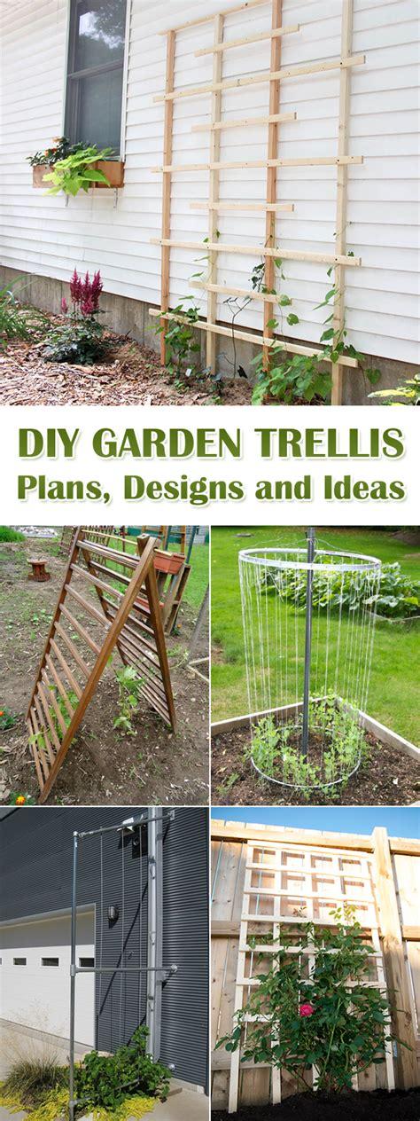 diy trellis plans 12 diy garden trellis plans designs and ideas