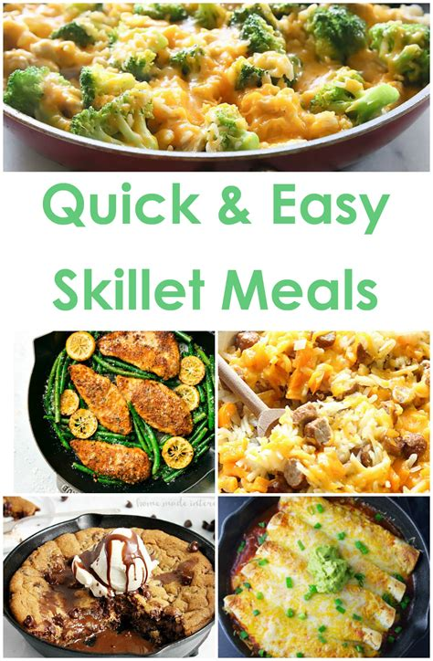 craftaholics anonymous 174 easy skillet meals for back to school