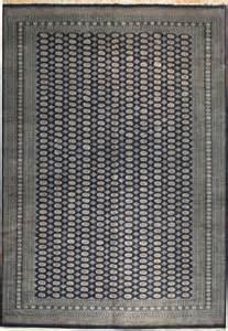 royal navy blue 12x18 handmade bokhara rug ebay