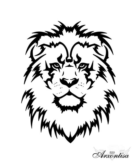 simple lion tattoo designs 82 design sketches