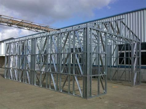 Metal Frame Shed by Fireproof Light Steel Frame Metal Car Shed With Steel