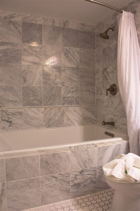 bathroom shower tub tile ideas wall