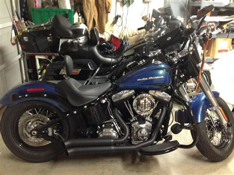Fad 25 Exhaust 10inc Power Air exhaust for a fatboy lo slim harley davidson forums