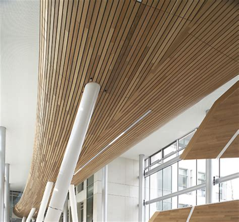 Douglas Ceilings by The Douglas Solid Wood Ceiling System Can Be