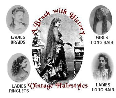 vintage hairstyles history a brush with history vintage hairstyles women long hair