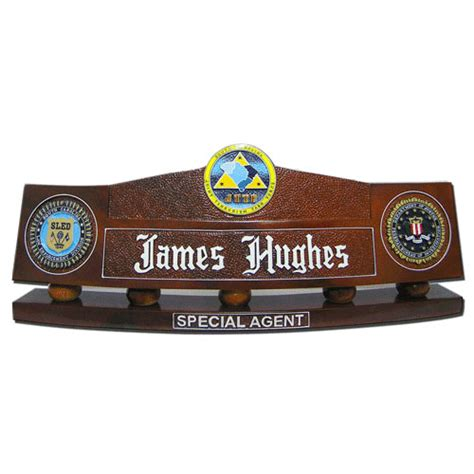 military desk name plates office military desk nameplates made of wood for offices home