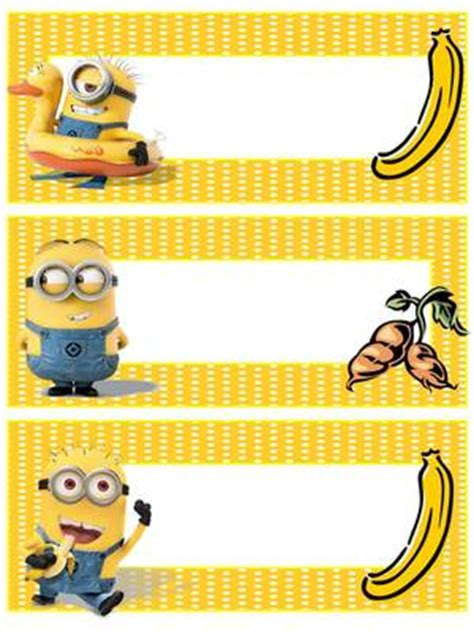 name tag design cartoon character free editable name tags minions minions pinterest
