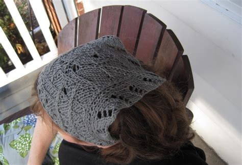 hair knitting patterns knit snoods hair coverings free patterns