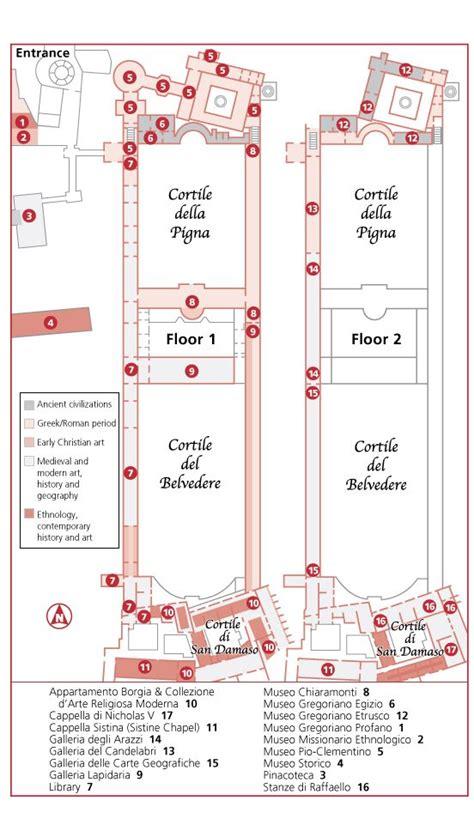 vatican museum floor plan the vatican museums 1 2014 italy pinterest