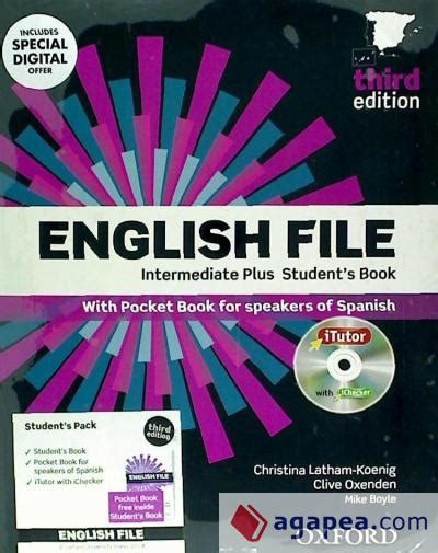 English File Intermediate Plus Student S Book Itutor