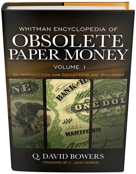 whitman encyclopedia of obsolete paper money volume 1