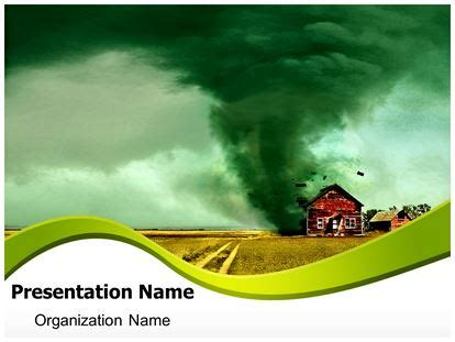 tornado powerpoint template background
