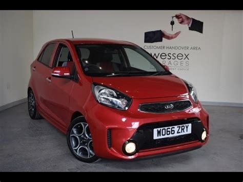 wessex kia gloucester wessex garages used 2017 kia picanto sport isg on