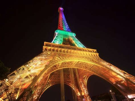 Rainbow Tower daily photo eiffel rainbow tower