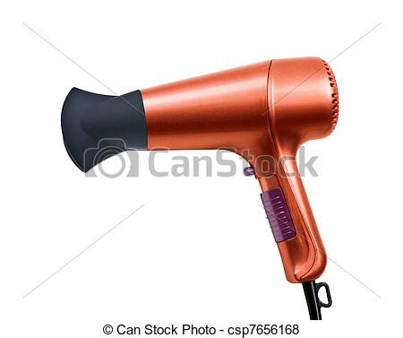 Hair Dryer Stock Clip by Stock Illustration Of Color Hair Dryer Isolated On White