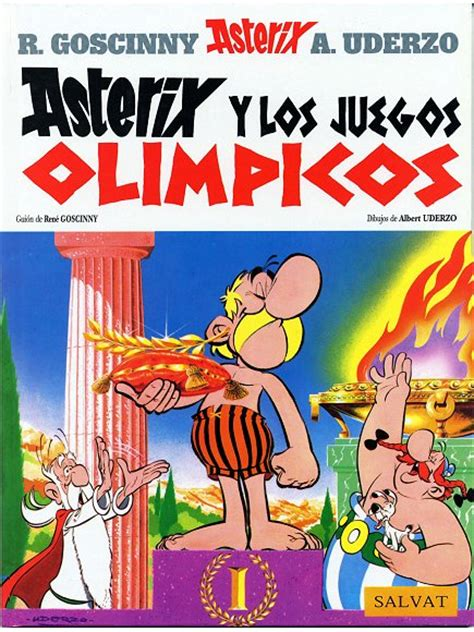 libro asterix in spanish el ast 201 rix y los juegos olimpicos uderzo albert y goscinny ren 201 sinopsis del libro rese 241 as