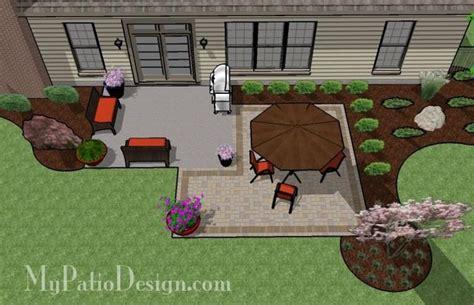 concrete patio designs layouts square paver patio addition patio designs and ideas
