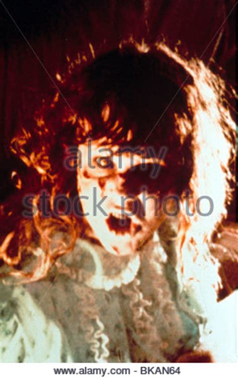 the exorcist film company linda blair the exorcist 1973 stock photo royalty free