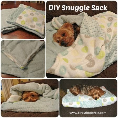 diy snuggle sack  canine chef cookbook