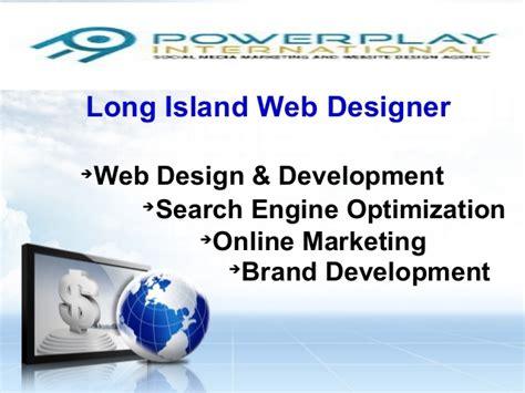 long island web design and professional marketing company long island web designer