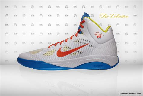 westbrook basketball shoes nike zoom hyperfuse westbrook quot home quot pe sole