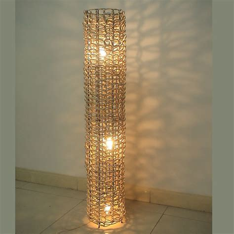 wicker lights china rattan floor l rf002 china light lighting