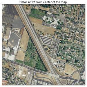 aerial photography map of ceres ca california