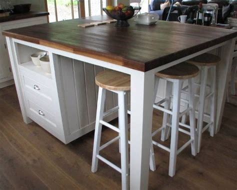 how to make a kitchen island with seating diy kitchen island plans tips ideas decorationy