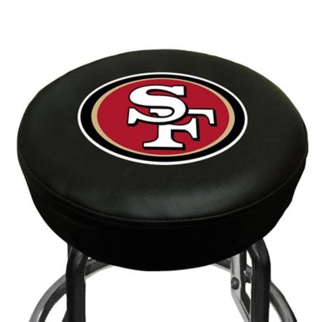 Nfl Bar Stool Covers by Nfl San Francisco 49ers Bar Stool Cover Bed Bath Beyond